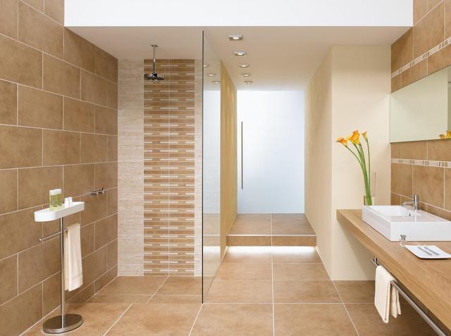 Badezimmer Fliesen Ideen Beige Herrlich On Mit Verzierung Auf 1