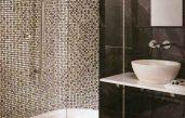 Badezimmer Fliesen Mosaik Dusche
