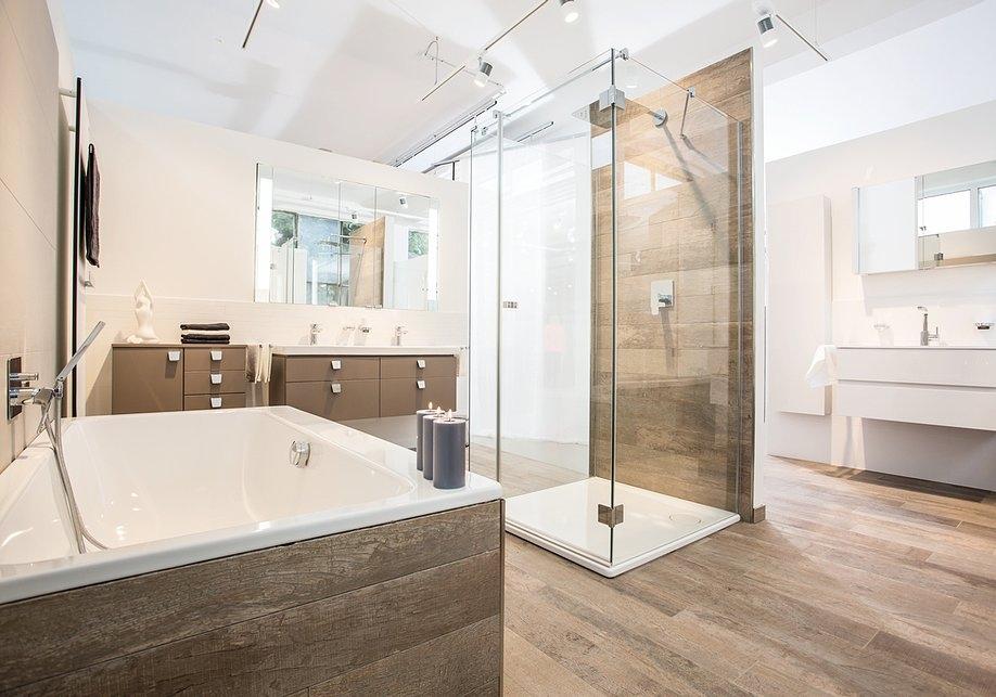 Badezimmer Holzfliesen Erstaunlich On Auf Home Design Ideas 8