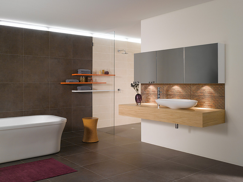 Badezimmer Ideen Braun Unglaublich On In Letzte Fliesen 2 5