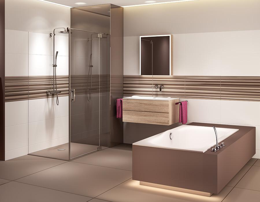 Badezimmer Ideen Weiß Braun Bemerkenswert On Auf Weis Style Interior Design Designs 5