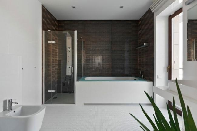 Badezimmer Ideen Weiß Braun Modern On In Bezug Auf Weiss Govconip Com 1