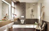 Badezimmer Ideen Weiß Braun