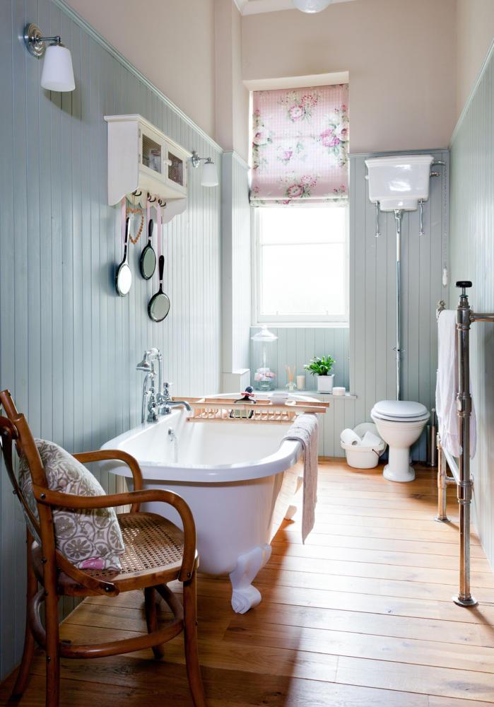 Badezimmer Im Landhausstil Erstaunlich On überall Beispiel Bad Fliesen 6 7