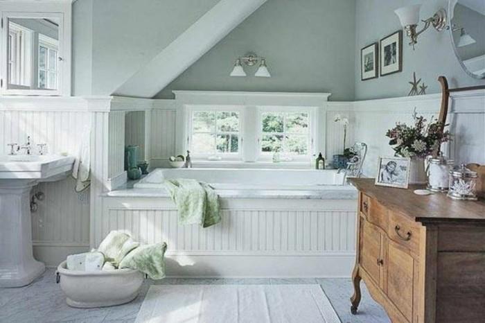 Badezimmer Im Landhausstil Interessant On In Ausgefallene Designideen Für Ein Landhaus Archzine Net 1