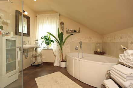 Badezimmer Im Landhausstil Modern On Mit Bad Spektakulär Designs Auf Ideen 9