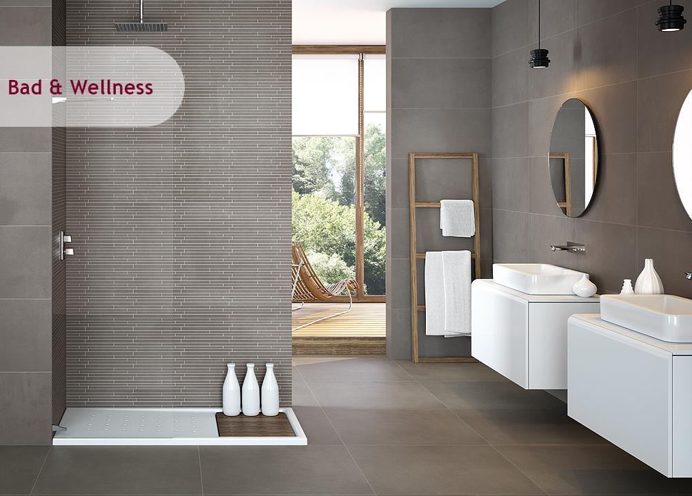Badezimmer In Grau Stilvoll On Bezug Auf Bemerkenswert Beige Fliesen Menerima Info Home 9