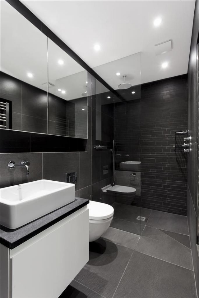 Badezimmer Mit Weiß Und Anthrazit Schön On Innerhalb 106 Bilder Beispiele Für Moderne Badgestaltung 5