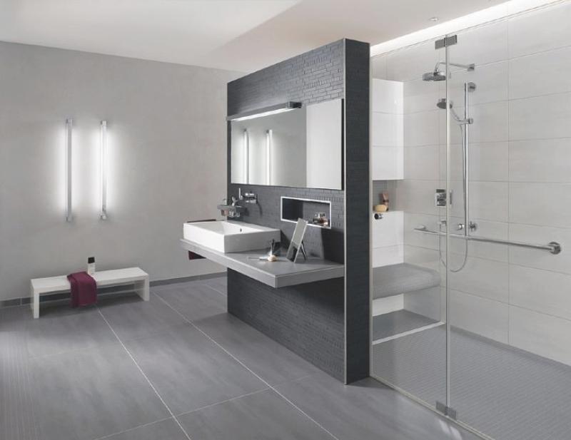 Badezimmer Modern Grau Einfach On Innerhalb Modernise Info 6