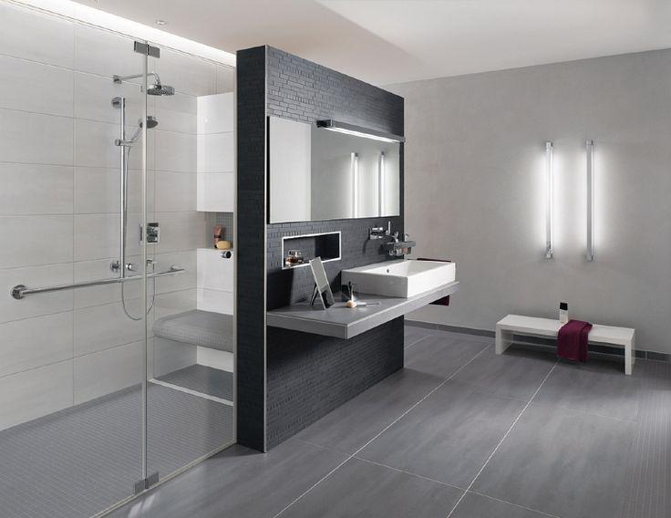Badezimmer Modern Grau On überall Fliesen Weis Faszinierend Bad 5