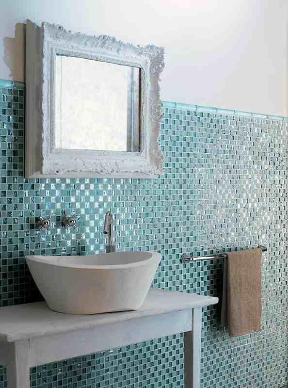Badezimmer Mosaik Ausgezeichnet On Auf Fliesen Fürs 15 Ideen Und Muster 7