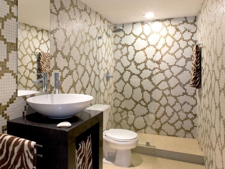 Badezimmer Mosaik Ausgezeichnet On Für Fliesen Fürs 15 Ideen Und Muster 3
