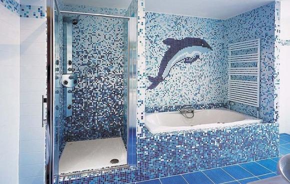 Badezimmer Mosaik Modern On Für Fliesen Tagify Us 6