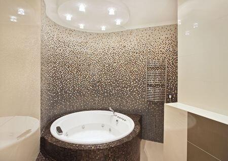 Badezimmer Mosaik Schön On Und Im 5