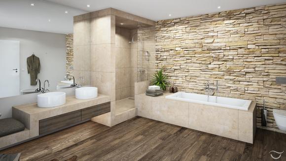 Badezimmer Stein Perfekt On Beabsichtigt Cabiralan Com 2