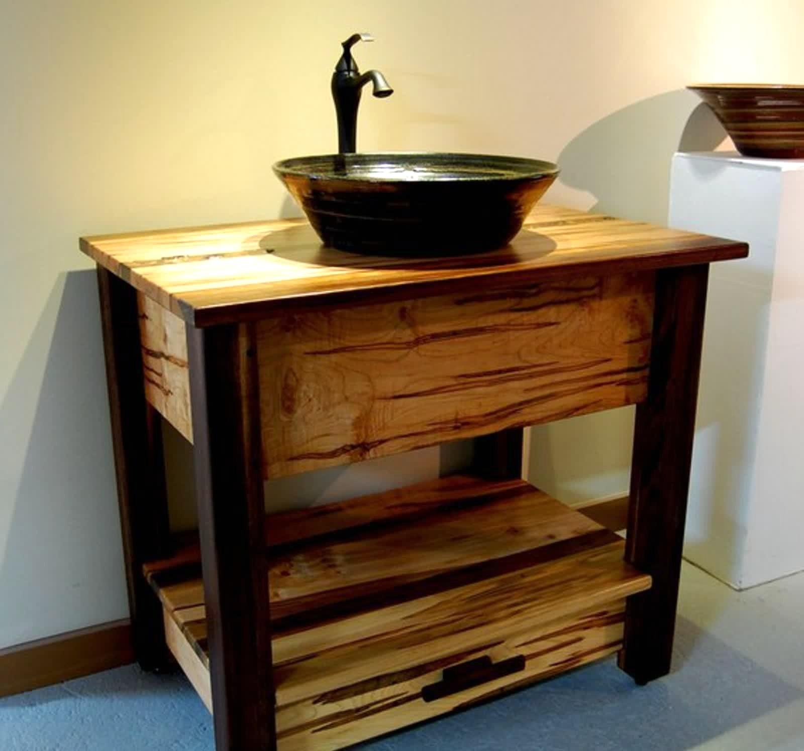 Badezimmermöbel Rustikal Wunderbar On Badezimmer In Bezug Auf Verwirrend Bilder Badezimmerm C3 B6bel Ideen Typ 7