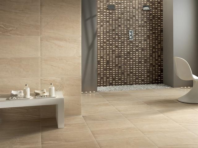 Badfliesen Braun Perfekt On Beabsichtigt Badideen 80 Ideen Und Moderne Designs 7