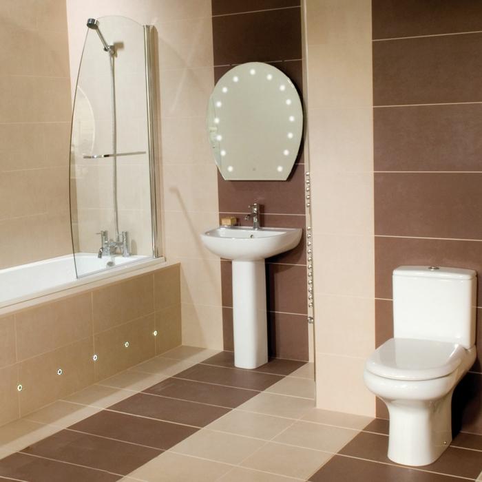 Badideen Fliesen Beige Braun Zeitgenössisch On In Badezimmer Wohndesign 8