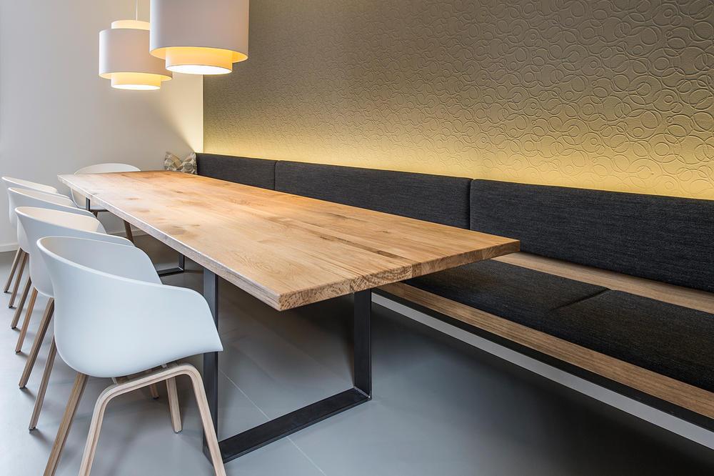 Bank Und Stuhl Modern Einfach On Esstisch Linum Mit Cubulus 8