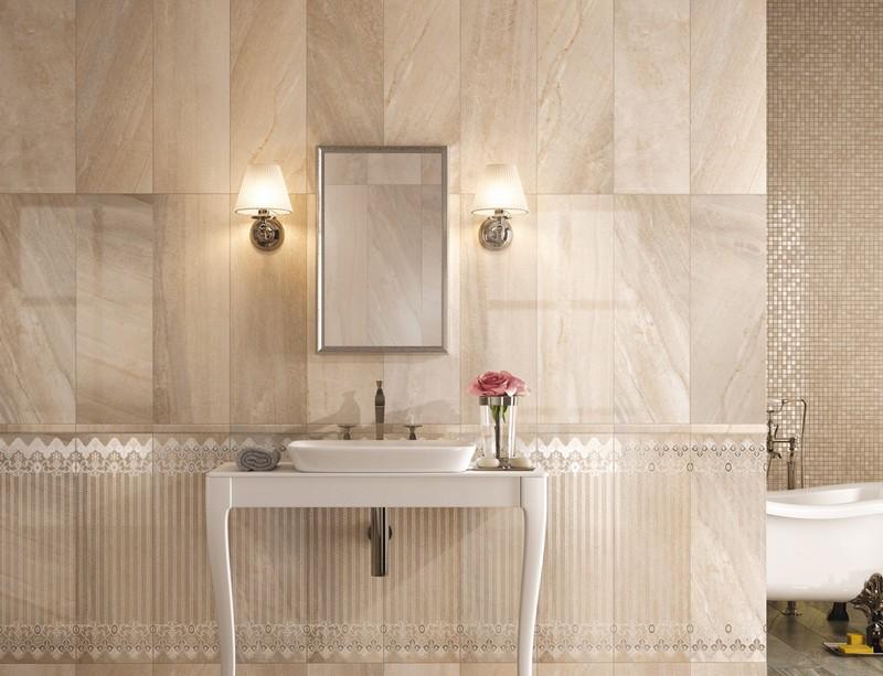 Beige Badezimmer Perfekt On Und In Modern Gestalten Tipps Ideen 9
