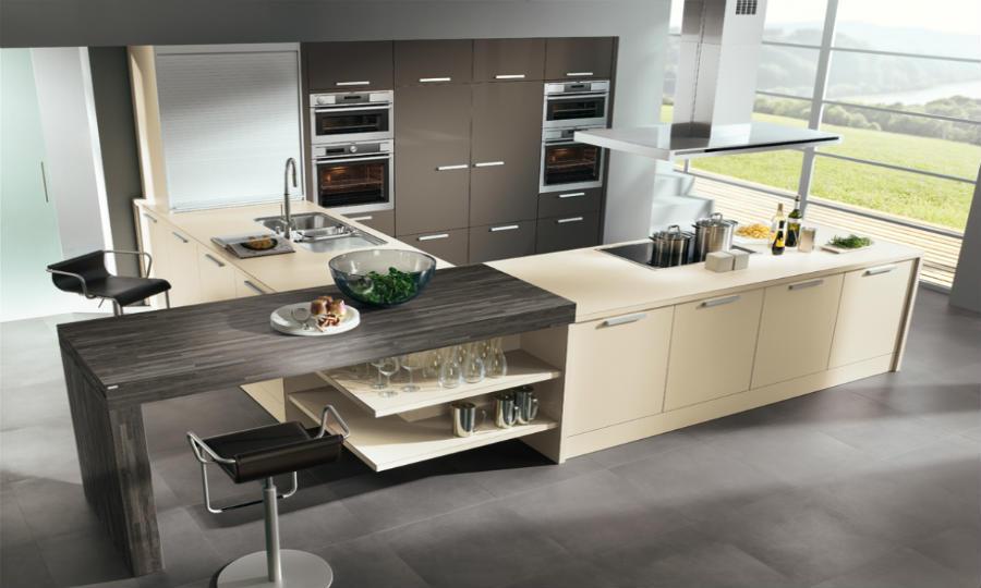 Beige Küche Interessant On Und Moderne Www Kuechenportal De 5