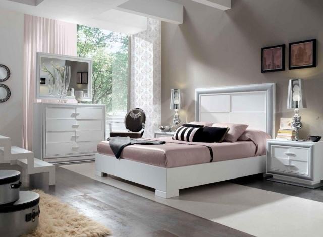 Beige Wandfarbe Weiße Möbel Modern On In Bezug Auf Glänzend Wand KogBox Com Home Design 2