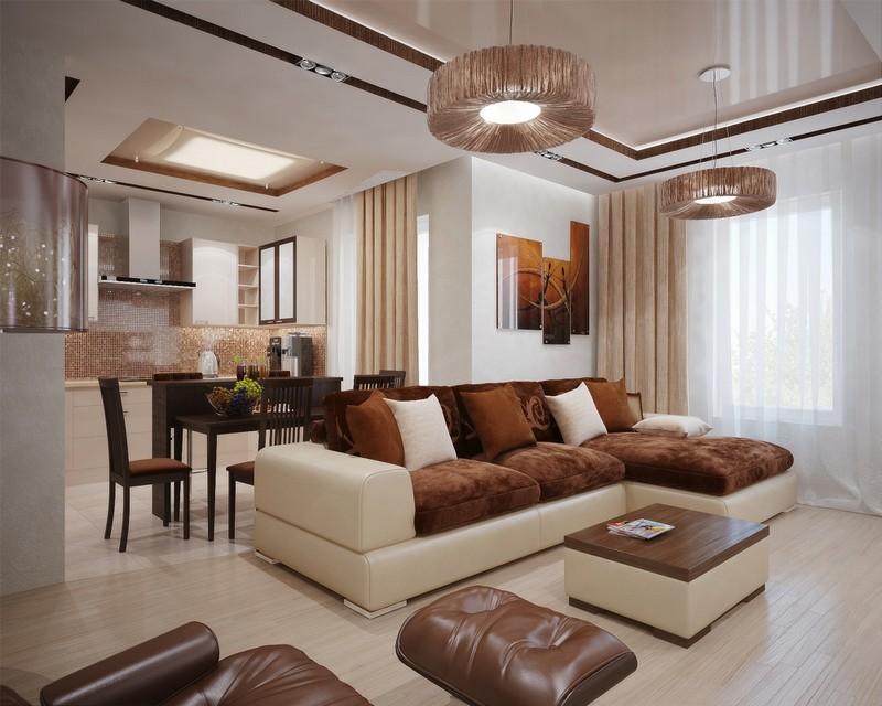 Beige Wohnzimmer Interessant On Mit Braun Einrichten Erstaunlich In Köstlich 5