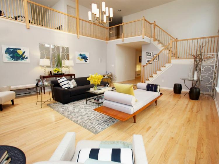 Beispiele Einrichtung Wohnzimmer Ausgezeichnet On Mit Zum Einrichten 30 Moderne Ideen 7