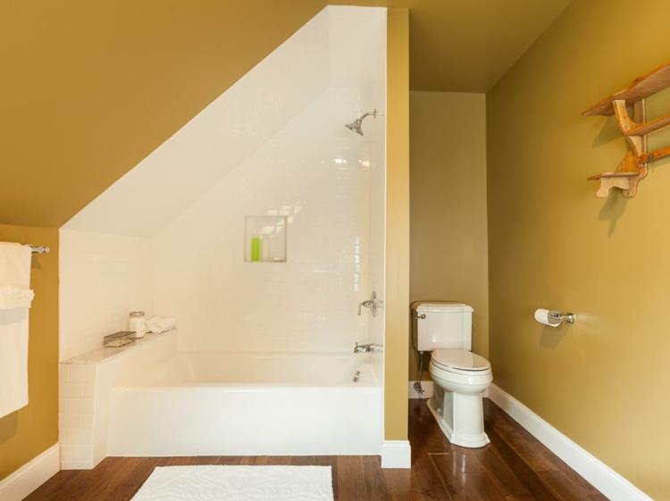Bemerkenswert On Badezimmer In Bezug Auf 27 Design Ideen Für Mit Dachschräge 6