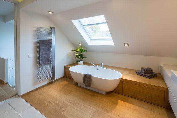 Dachschrägebadezimmer