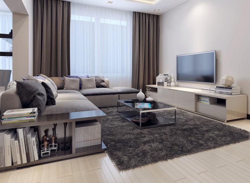 Bemerkenswert On Wohnzimmer Mit Ehrfürchtig Einrichtungen 8