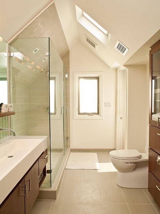 Bescheiden On Badezimmer Und 27 Design Ideen Für Mit Dachschräge 1
