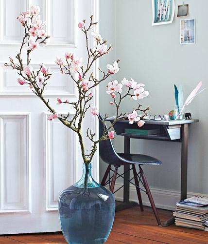 Bodenvase Deko Ideen Herrlich On In Magnolienzweige Bodenvasen Bild 3 LIVING AT HOME 7