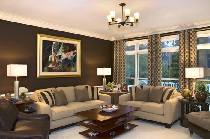 Braun Wohnzimmer Bescheiden On überall 60 Messe Braunes Wohndesign 8