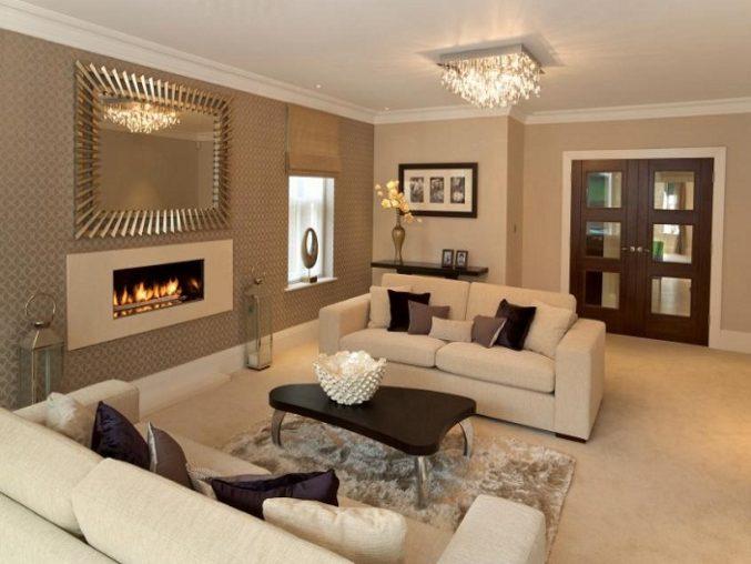Braune Couch Beige Waende Welche Vorhaenge Bemerkenswert On Beabsichtigt Uncategorized Schönes Wand Wohnzimmer Ebenfalls 7