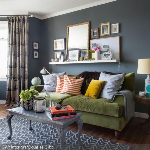 Braune Couch Beige Waende Welche Vorhaenge Frisch On Für 4