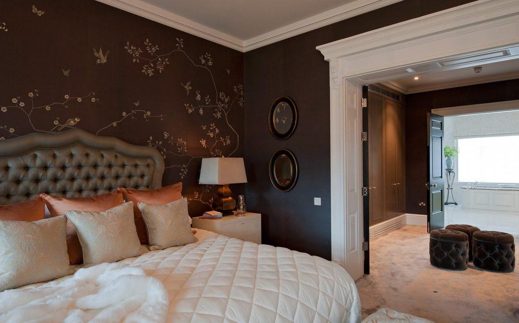 Braune Schlafzimmerwand Glänzend On Braun Auf Dekoration Rodmansc Org 9