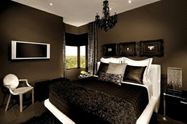 Braune Schlafzimmerwand Unglaublich On Braun Und Wandfarbe Schlafzimmer 69 Images 3