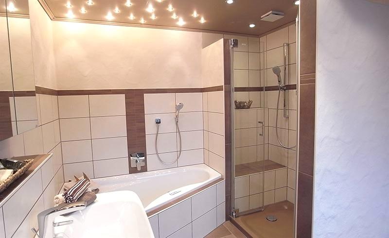 Braunes Badezimmer Bemerkenswert On In Mit Wandfarbe Bei Braunen Fliesen Menerima 2 9