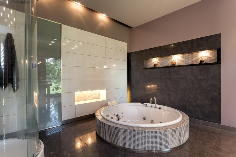 Braunes Badezimmer Stilvoll On Auf Fliesen In Braun Tipps Zum Kauf 5
