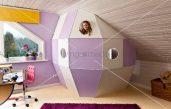 Dachschraege Kinderzimmer Maedchen