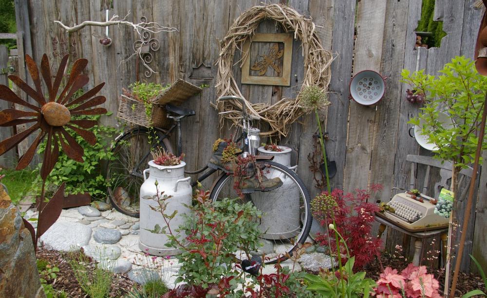 Deko Garten Einfach On Andere In Bezug Auf Holz Stunning Images House Design 8
