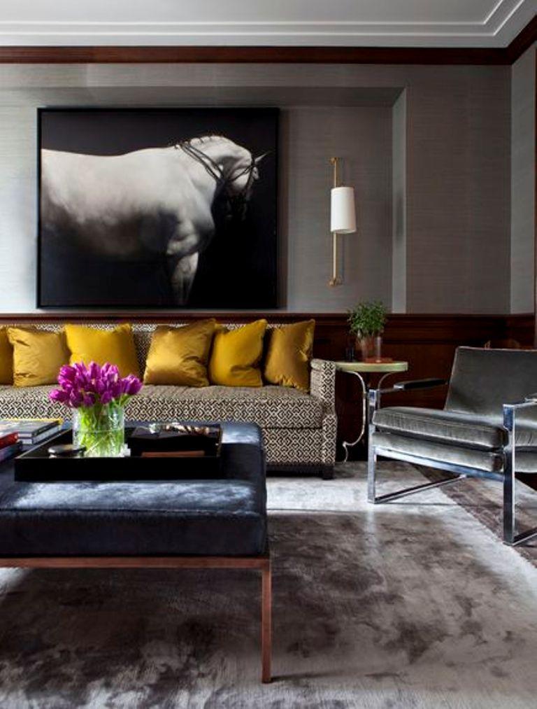 Deko Modern Living Wunderbar On Beabsichtigt Contemporary Room With Art Deco Elements Loft Apartment 6