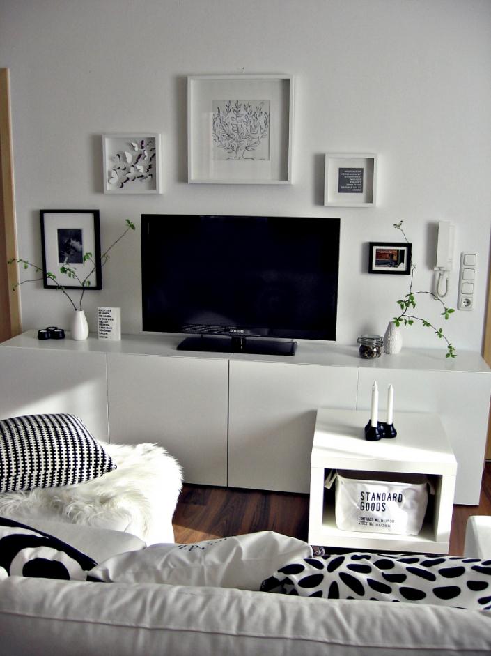 Deko Schwarz Weiß Wohnzimmer Großartig On In Bezug Auf Dekoration Weis Full Size Of Wohndesign 8