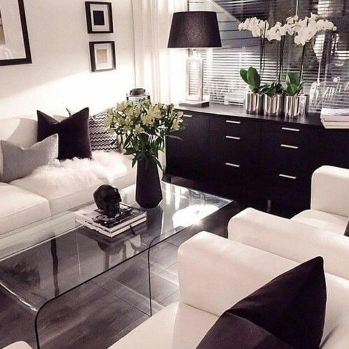 Deko Schwarz Weiß Wohnzimmer Perfekt On Innerhalb Dekoriert Kogbox Com Die Besten 25 2