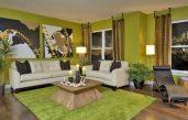 Deko Wohnzimmer Grün Beige