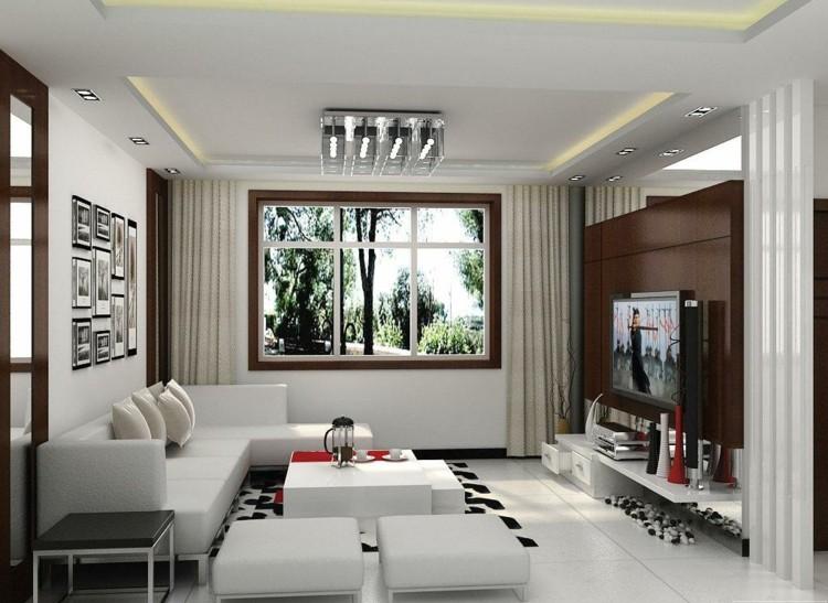 Deko Wohnzimmer Modern Imposing On Auf Www Sieuthigoi Com 2