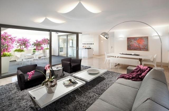 Deko Wohnzimmer Modern Imposing On Für Govconip Com 1