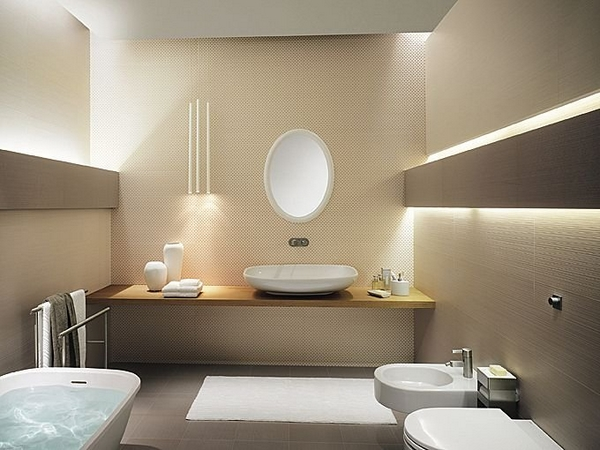 Design Bad Stilvoll On Andere In Bezug Auf Badezimmer Dekoration Erstaunlich Ideen Indirekte 9
