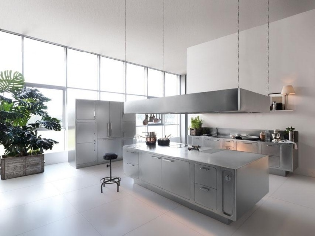 Design Edelstahl Küchen